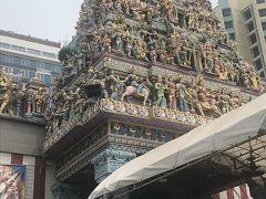 1881年にインド・ペンガル地方出身の人々によって建てられたヒンドゥー教寺院 駅から徒歩5分のはずがまた迷いました