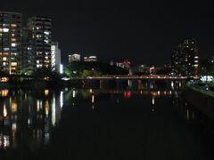 京橋川に架かる栄橋