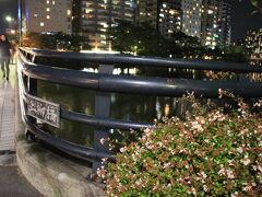 京橋川に架かる上柳橋を渡ります。