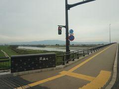 というわけで、筑後川にかかる熊代橋を渡ったのは、僕を除いでわずか4人でした。