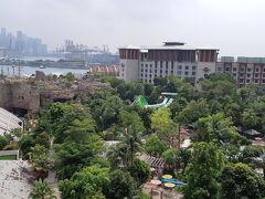 3日目はWシンガポールセントーサコーヴに移動します♪