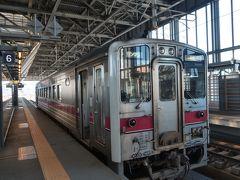 ★14:40 そして15時前、再び鉄道の旅に戻ります。 旭川14時40分に発車する「特快きたみ」。