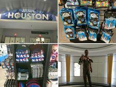 ヒューストンと言えばNASA。お土産でも売っているものはNASAグッズ&宇宙食。美味しいのかな…?ブッシュ大統領像も飾られていました。