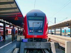 8月18日(日)  16:16 レーゲンスブルクからミュンヘン中央駅に帰着   ~~~~~~~~~~~~~~~~~~~~~~~~    徒歩でカールスプラッツへ