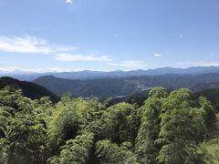 奥武蔵グリーンラインを吾野方面へ走ると、顔振峠へ 天気は相変わらず快晴で気持ちが良いです。 ここでは秩父コーラなるドリンクがあるのですが、今回はパス。