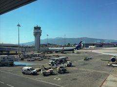 ソフィア空港着きました!