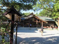 みちひらきの大神、猿田彦神社に来ました。  物事を最善の方向に導く、みちひらき、の神様だそうで、 こちらも参拝しました。  おはらい町からも歩いてすぐの場所にあります。