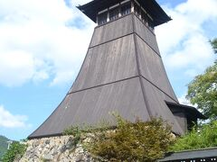 辰鼓楼 日本最古の時計台だそうです。