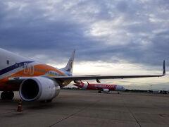 再びノックエアに乗ってドンムアン空港を目指します。