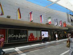 《El Corte Ingles カリャオ1号館》  ソル駅の方向に歩いていくと、またエルコンテがあった。 どうやら、こっちがファッション館のようだ。