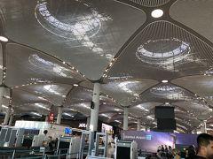 帰りは新しくできたイスタンブール空港から とても広々してました