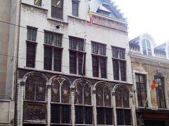 マイヤー ヴァン デン ベルグ美術館(Museum Mayer van den Bergh)の入口。美術品蒐集家であった貴族フリッツ・マイヤー・ファン・デン・ベルフの個人コレクションを展示。