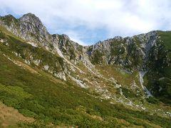 千畳敷 草紅葉でした。天気もよく登山日和!