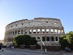 コロッセオ~  民の娯楽のために作ったらしいけど、1階から4階まで全ての席から観ることができるとか、天幕があって日除けにしたとか。。。 約2000年前ですよ 信じられないですね