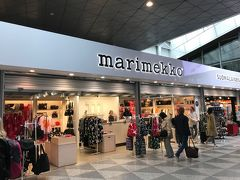 ヘルシキンまで戻ってきました。 まず、マリメッコで買い物。