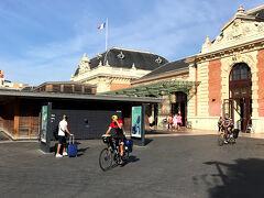 4日目は、モナコに行きます。 バスではなく、国鉄を利用しました。