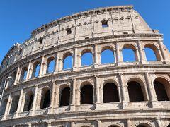 29<コロッセオ> そして、ついにやってきた「コロッセオ」。圧倒的存在感です。 ローマ、いやイタリア、いやヨーロッパを代表する「世界遺産」と言ってもいいでしょう。 「来た、見た、感動した!!」(by nanochan)