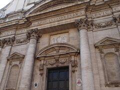 次はもちょっとジェズ教会と似ているサンティニャツィオ教会