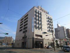 ホテルは、河原町というところにあるホテル法華倶楽部熊本。繁華街、熊本駅の間にあり、路面電車の駅も、空港行きのリムジンバスのバス停も近いので、個人的には便利な立地でした。