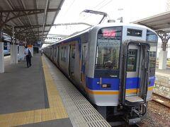 【その1】からのつづき  なんば駅から南海電鉄の特急「サザン」に乗り、南海本線の終点・和歌山市駅から和歌山港線に直通して、和歌山港駅まで往復。 和歌山市駅まで戻ってきた。