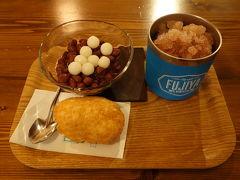 デザートは定番の富士家のぜんざい 那覇の時はいつも食べてる気がします