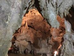 この鍾乳洞は石垣島ができた2億7千万年前頃に海底から浮上したものではないかと言われているそうです。はるか昔過ぎてイメージが…