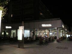 Watzke am Goldenen Reiter  観光客向けの店が多い旧市街を離れノイシュタット地区入り口にある ドイツ料理の店へ 20:30で予約