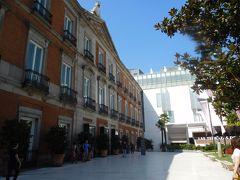 ホテルから近いので、わりとすぐにティッセン=ボルネミッサ美術館に到着。