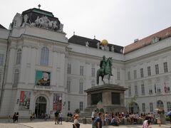 オーストリア国立図書館です。 ウィーンで楽しみにしていた場所のひとつ!