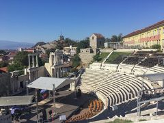 ローマ劇場跡にきました!