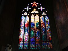 聖ヴィート大聖堂に入りました。