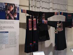 その後ぶらぶらと自転車で街を探索していたら私好みの博物館を発見。 ここはラオスの少数民族の伝統の手仕事と伝統の楽器を紹介しています。