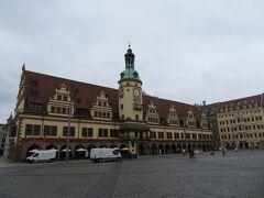 旧市庁舎  マルクト広場の一角にあるこの旧市庁舎は 現ライプツィヒ市歴史博物館になっていました