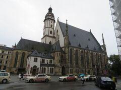 変わってトーマス教会 外観  バッハで有名な教会