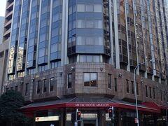 ホテルは、Metro Hotel Marlowです。 ビジネスホテルですが、立地は良かったです。