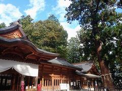 8:40分ごろに精算をし、頼んでおいたタクシーに乗り、穂高神社へと向かう。 この神社に参拝するのも何回目だろうか。 建て替えられて綺麗になってしまったが、ここの雰囲気は結構気に入っている。 ただ、この日は落ち葉を吹き飛ばすブロワーを使っている方がいて、埃と騒音で酷い目にあった。