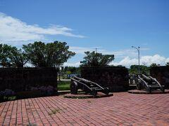 小砲台。1840年頃のものだそう。