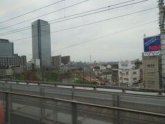 名古屋駅に進入します。 名古屋駅15時25分着。