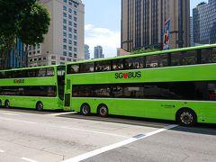 このシンガポールのバスのデザインが、自分は好きです(^-^)