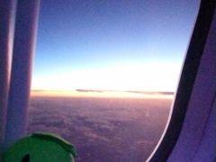飛行機での移動