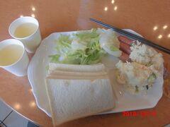 東横イン弘前駅前の朝食。