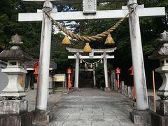 『水の神様』が祀られた神社です。