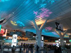 クリスマスが終わり、年末ムードの羽田空港。イルミネーションが綺麗。