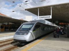 カンパニャン駅から電車で、リスボンへ。