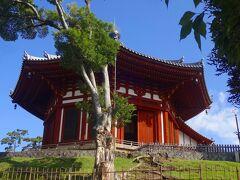 こちらも優雅な姿形の南円堂。  もともとは813年創建だそうですが、江戸時代に再建されたもので、多くの仏像などを安置しています。  さて、興福寺を出て向かうのはならまち方面です。  そこでーー!