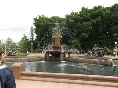 アーチボルト噴水