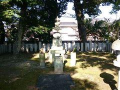 豊臣大納言秀長の墓所