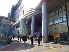 4日目、鐘路3街(チョンノサムガ)駅より地下鉄に乗り、水原(スウォン)にやって来ました。直通で1時間10分程。大きな駅です。