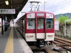 道明寺駅にて。 JR大和路線で柏原駅まで移動し、近鉄で河内長野へ向かいます。柏原から近鉄道明寺線で道明寺へ行き、長野線に乗り換えて河内長野へ。
