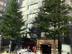 今回泊まった、アパホテル札幌駅前。予想以上に大きなホテルでした。